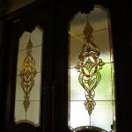 شیشه استیندگلس درب لابی لوکس نمای 2