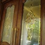 شیشه استیندگلس درب لابی لوکس نمای 6
