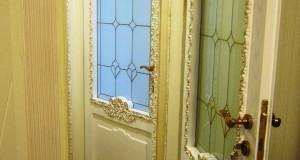 شیشه تزیینی و دکوراتیو برای درب اتاق خواب نمای 3