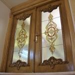 شیشه تزئینی استیند گلس یا تیفانی برای درب سالن پذیرایی نمای 8