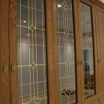 شیشه درب کابینت نمای 3