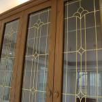 شیشه درب کابینت نمای 4