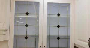 شیشه درب کابینت 4