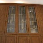 شیشه درب کابینت نمای 2