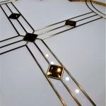 شیشه سقف سرویس بهداشتی شماره 2      نمای 3