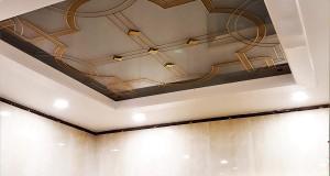 شیشه سقف سرویس بهداشتی شماره 2      نمای 7