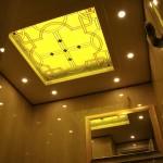 شیشه سقف سرویس بهداشتی شماره 2      نمای 1