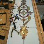 مراحل ساخت شیشه در کارگاه نمای 3