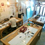 مراحل ساخت شیشه در کارگاه نمای 4