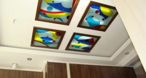 پروژه اختیاریه ( سقف کاذب آشپزخانه ) طرح مدرن