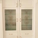 شیشه تزیینی و دکوراتیو درب کابینت ممبران (نمای 1)