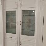 شیشه تزیینی و دکوراتیو درب کابینت ممبران (نمای 5)