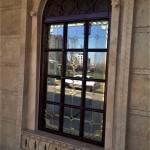 پنجره های شیشه ای استیندگلس نمای 5
