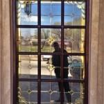 پنجره های شیشه ای استیندگلس نمای 12