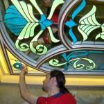 سقف شیشه ای استیند گلس سرویس بهداشتی میهمان نمای 6