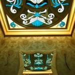 سقف شیشه ای استیند گلس سرویس بهداشتی میهمان نمای 9