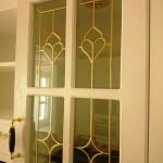 شیشه درب کابینت کلاسیک (نمای 3)