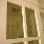 شیشه درب کابینت کلاسیک (نمای 4)