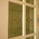 شیشه درب کابینت کلاسیک (نمای 5)