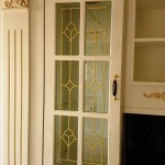 شیشه درب کابینت کلاسیک (نمای 6)