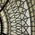 زوایای مختلفی از شیشه های استیندگلس و تیفانی برای گنبد و سقف های نورگیر