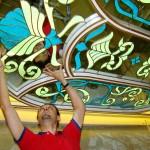 سقف شیشه ای استیند گلس سرویس بهداشتی میهمان نمای 4