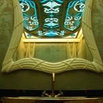 سقف شیشه ای استیند گلس سرویس بهداشتی میهمان نمای 5